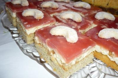 Vanillekipferl-Quadrate - Rezept