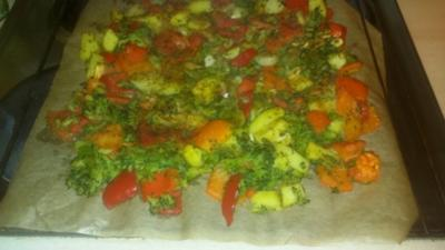 Überbackenes Gemüse - Rezept