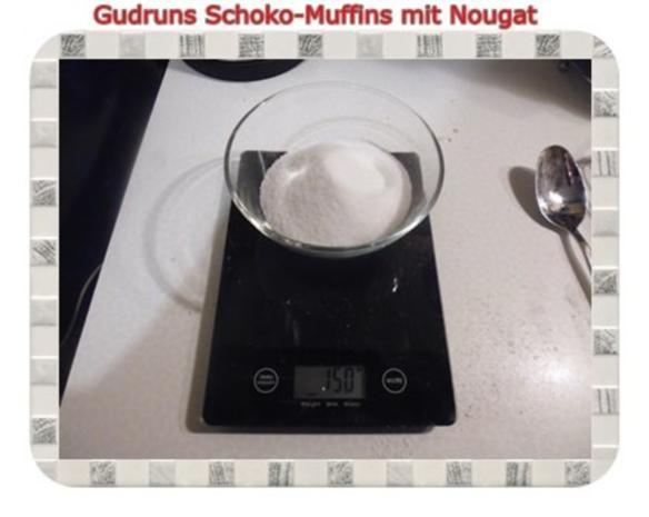 Muffins: Schokomuffins mit Nougat - Rezept - Bild Nr. 5