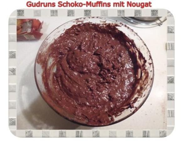 Muffins: Schokomuffins mit Nougat - Rezept - Bild Nr. 11