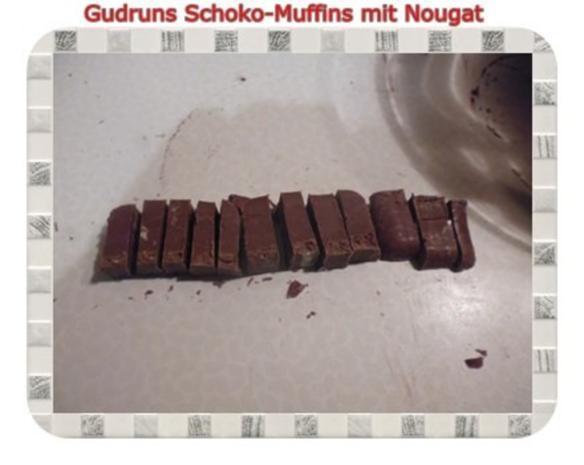 Muffins: Schokomuffins mit Nougat - Rezept - Bild Nr. 12