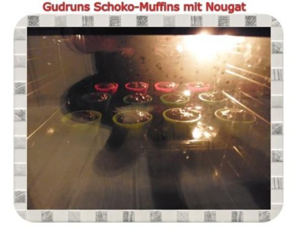 Muffins: Schokomuffins mit Nougat - Rezept - Bild Nr. 14