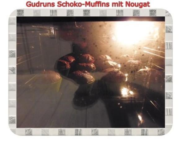Muffins: Schokomuffins mit Nougat - Rezept - Bild Nr. 15