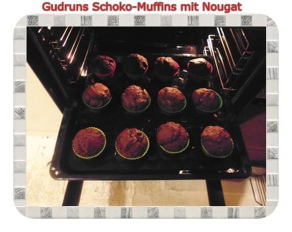 Muffins: Schokomuffins mit Nougat - Rezept - Bild Nr. 16