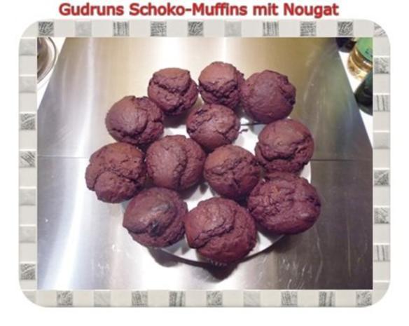 Muffins: Schokomuffins mit Nougat - Rezept - Bild Nr. 18