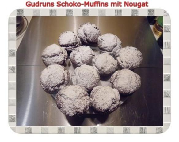 Muffins: Schokomuffins mit Nougat - Rezept - Bild Nr. 19