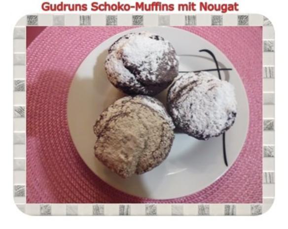 Muffins: Schokomuffins mit Nougat - Rezept - Bild Nr. 21