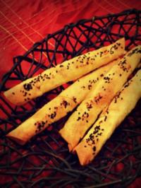 Feta-Börek - Türkische Schafskäse Zigarren als Vorspeise oder Snack - Rezept