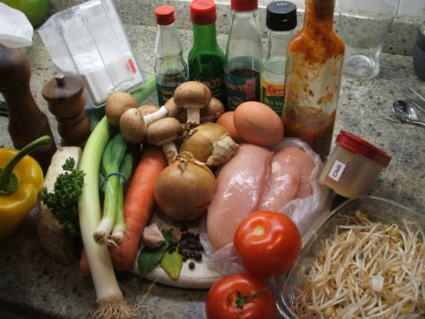 """Suppen: Hühnersuppe """"Shanghai"""" - Rezept - Bild Nr. 2"""