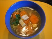 Hähnchensuppe mit Einlage - Rezept