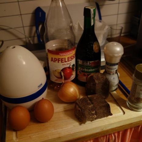 Rindfleischsalat/Saures Rindfleisch nach Waltl - Rezept