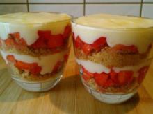 Knöpfchens Erdbeer-Kaltschale - Rezept