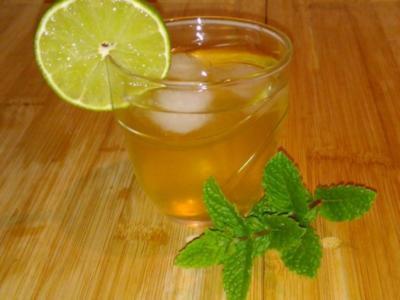 Eistee mit marokkanischer Minze - Rezept