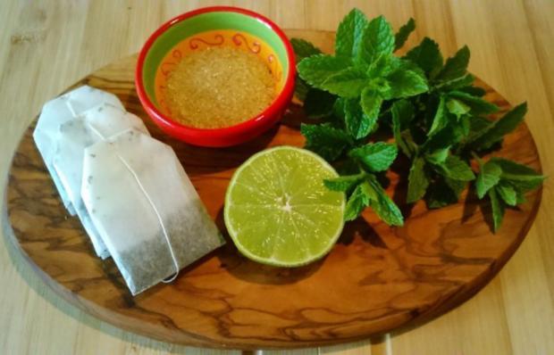 Eistee mit marokkanischer Minze - Rezept - Bild Nr. 2