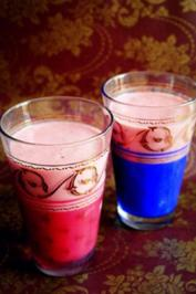 Getränk: Fruchtiger Beeren-Orangen-Shake - Rezept