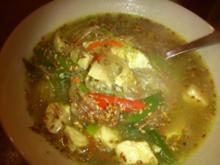 Asia-Suppe mit Hähnchen - Rezept