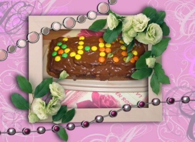 Kuchen : Nougat - Marzipan - Rezept