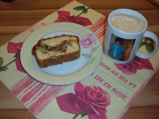Kuchen : Nougat - Marzipan - Rezept - Bild Nr. 2