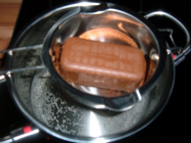 Kuchen : Nougat - Marzipan - Rezept - Bild Nr. 4