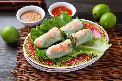 Vietnamesische Sommerrollen - Rezept - Bild Nr. 2