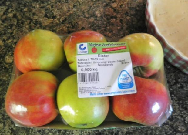 Apfel - Tarte ... oder Tarte mit Apfel ... - Rezept - Bild Nr. 9