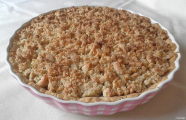 Apfel - Tarte ... oder Tarte mit Apfel ... - Rezept - Bild Nr. 3