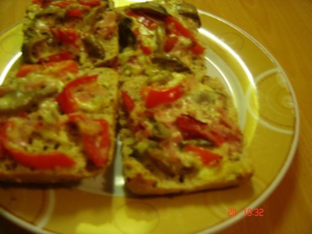 Pizzabrötchen nach Heimi - Rezept
