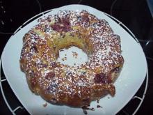 Kirsch-Mandel-Gugelhupf  (für Diabetiker) - Rezept