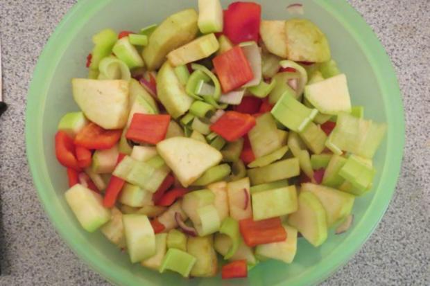 Auflauf: Gemüse mit Reis - Rezept - Bild Nr. 2