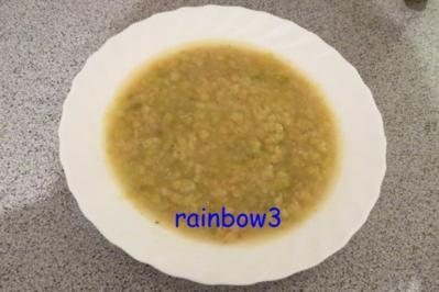 Kochen: Gelbe Linsen-Porree-Suppe - Rezept