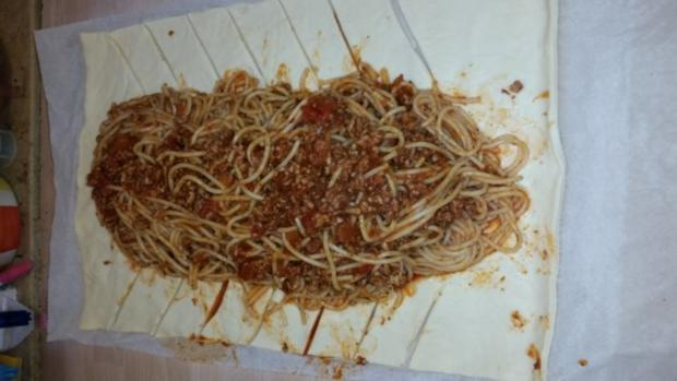 Spaghetti Zopf - Rezept - Bild Nr. 2