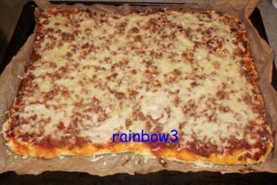 Rezept: Pizza: Thunfisch