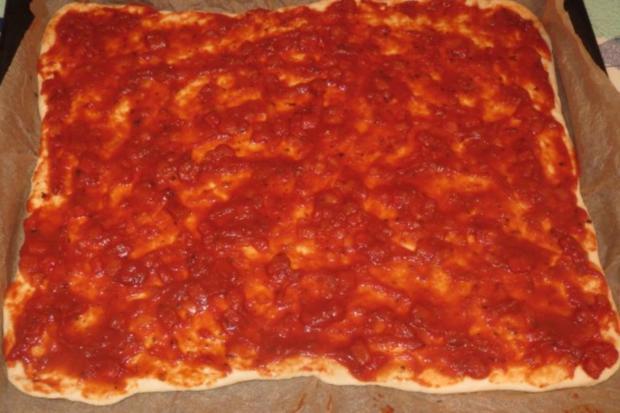 Pizza: Thunfisch - Rezept - Bild Nr. 4