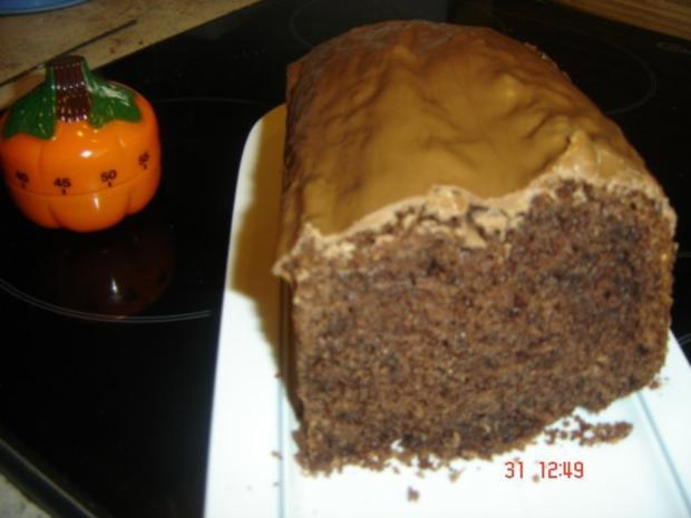 Schoko Nuss Karamell Kuchen Rezept Mit Bild Kochbar De