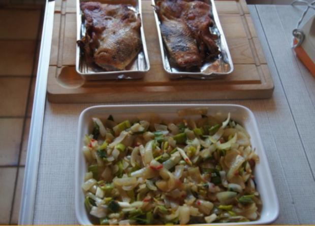 Gourmet Knusperente mit orientalischen Reis und Erdnusssauce - Rezept - Bild Nr. 6