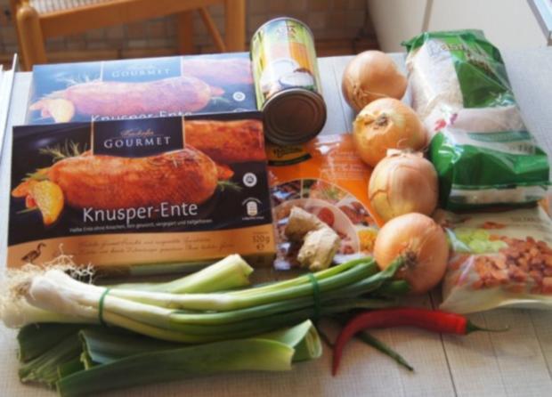 Gourmet Knusperente mit orientalischen Reis und Erdnusssauce - Rezept - Bild Nr. 2