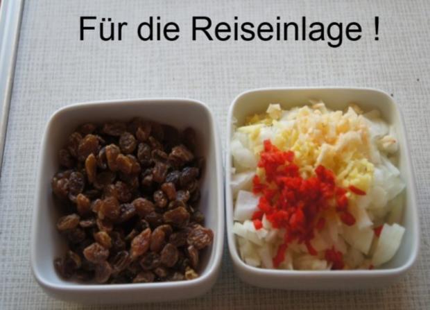 Gourmet Knusperente mit orientalischen Reis und Erdnusssauce - Rezept - Bild Nr. 11