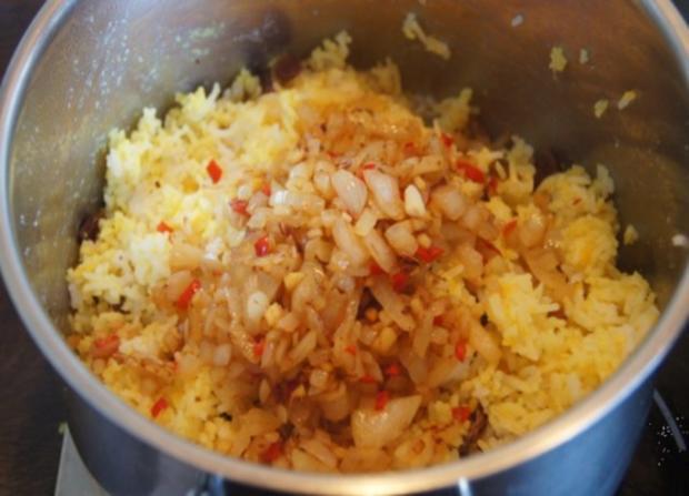 Gourmet Knusperente mit orientalischen Reis und Erdnusssauce - Rezept - Bild Nr. 15