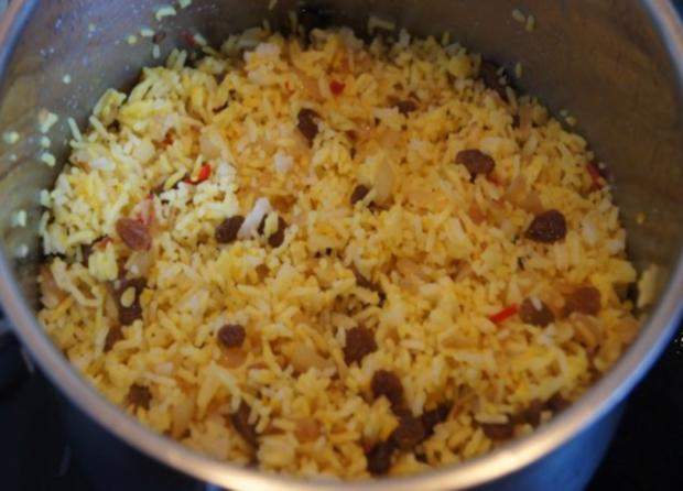 Gourmet Knusperente mit orientalischen Reis und Erdnusssauce - Rezept - Bild Nr. 16