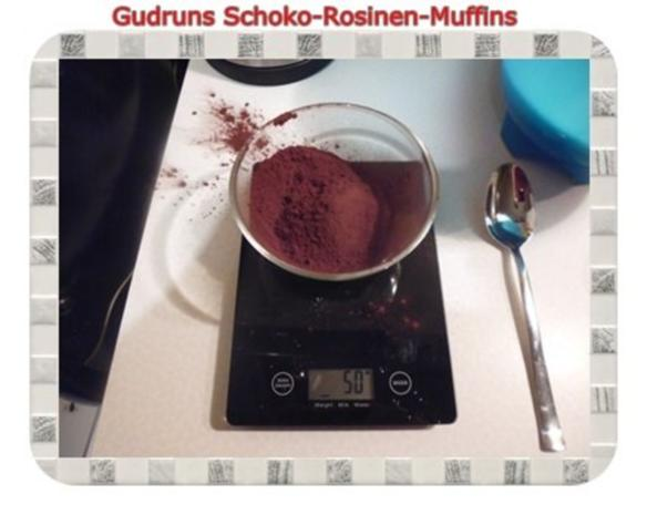 Muffins: Schoko-Rosinen-Muffins - Rezept - Bild Nr. 6