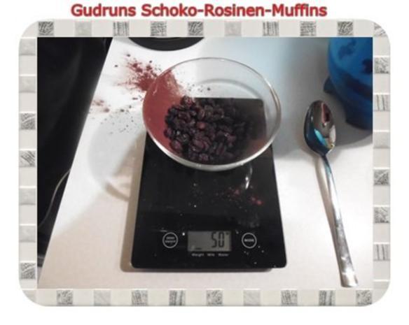 Muffins: Schoko-Rosinen-Muffins - Rezept - Bild Nr. 7