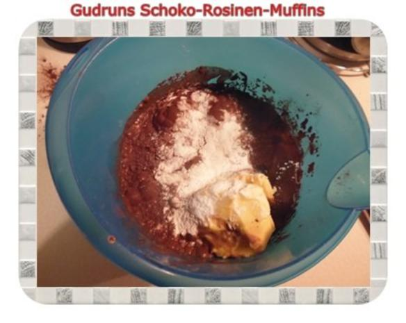 Muffins: Schoko-Rosinen-Muffins - Rezept - Bild Nr. 9