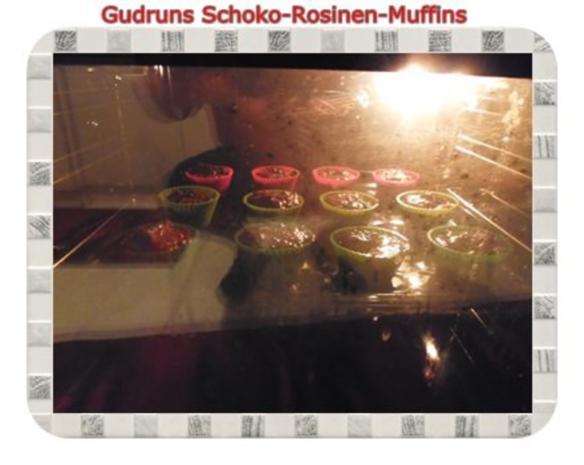 Muffins: Schoko-Rosinen-Muffins - Rezept - Bild Nr. 12