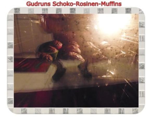 Muffins: Schoko-Rosinen-Muffins - Rezept - Bild Nr. 13
