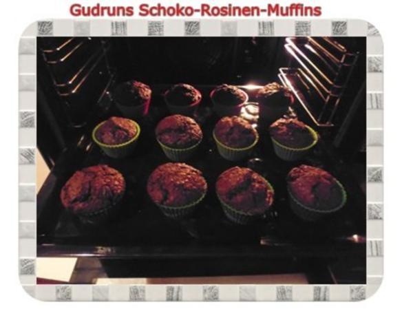 Muffins: Schoko-Rosinen-Muffins - Rezept - Bild Nr. 14