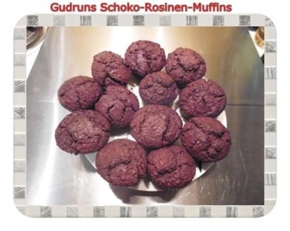 Muffins: Schoko-Rosinen-Muffins - Rezept - Bild Nr. 16