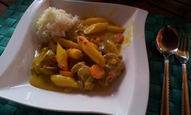 Spargel-Kokos-Curry - Rezept