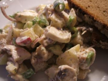 Salate: Backhendl-Salat - Rezept