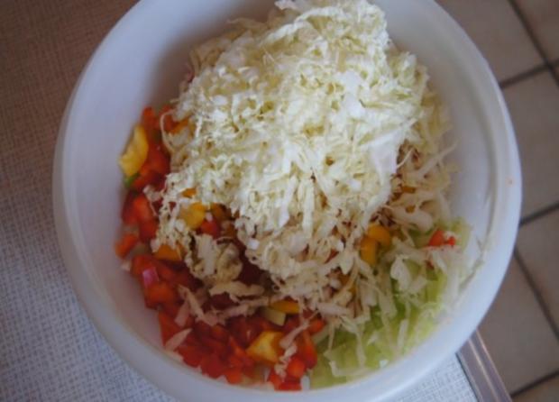 Nudeln mit Sauce und Salat - Rezept - Bild Nr. 12