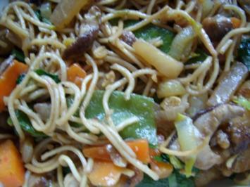 Rezept: Chinapfanne aus dem Wok